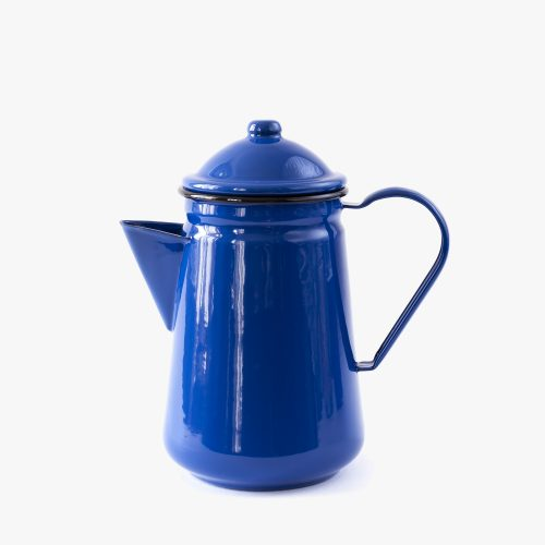 falcon enamel_hnstly_smaltovana konvice na kavu_modra